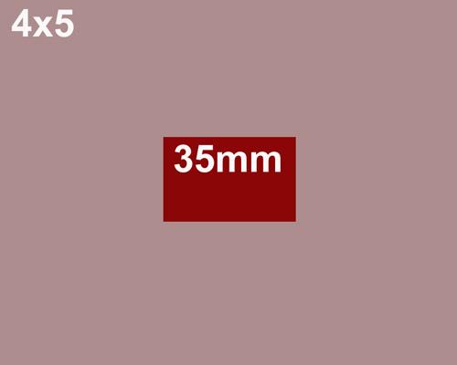 4x5 format comparison