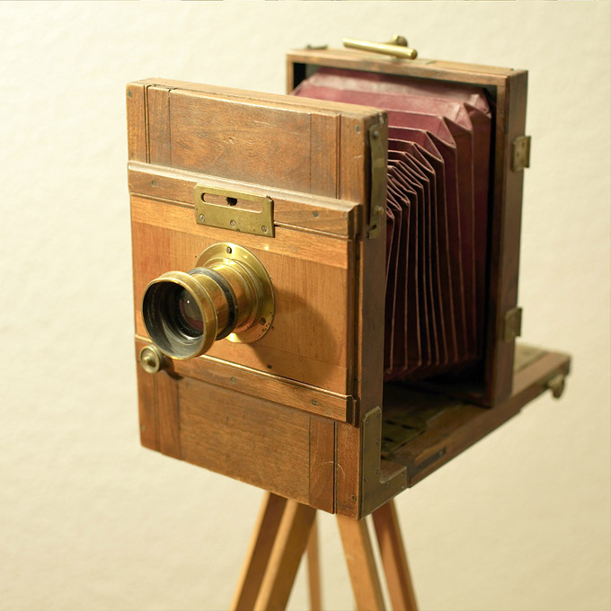 Pre-1900 Large Format Camera