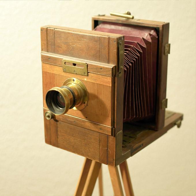 Pre-1900 Large Format Camera
