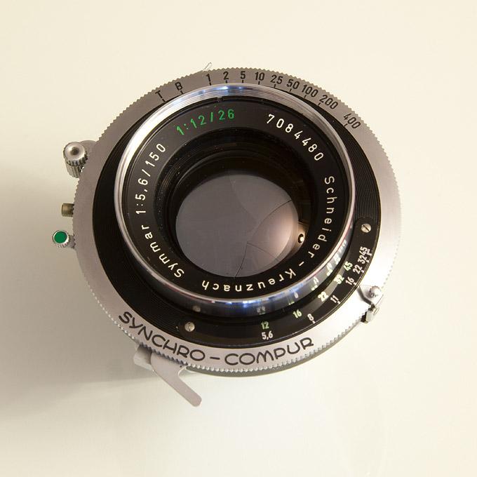 The Schneider Kreuznach Symmar 5,6/150 - 12/265 Convertible Lens