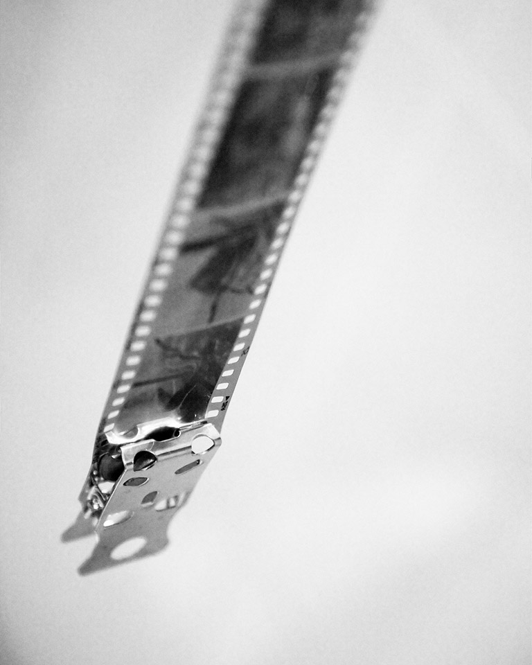 Drying the black and white film